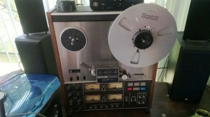 TEAC Reel to Reel Deck