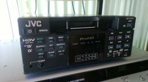 JVC PROHD Deck