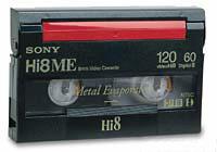 Hi8 Video Cassette